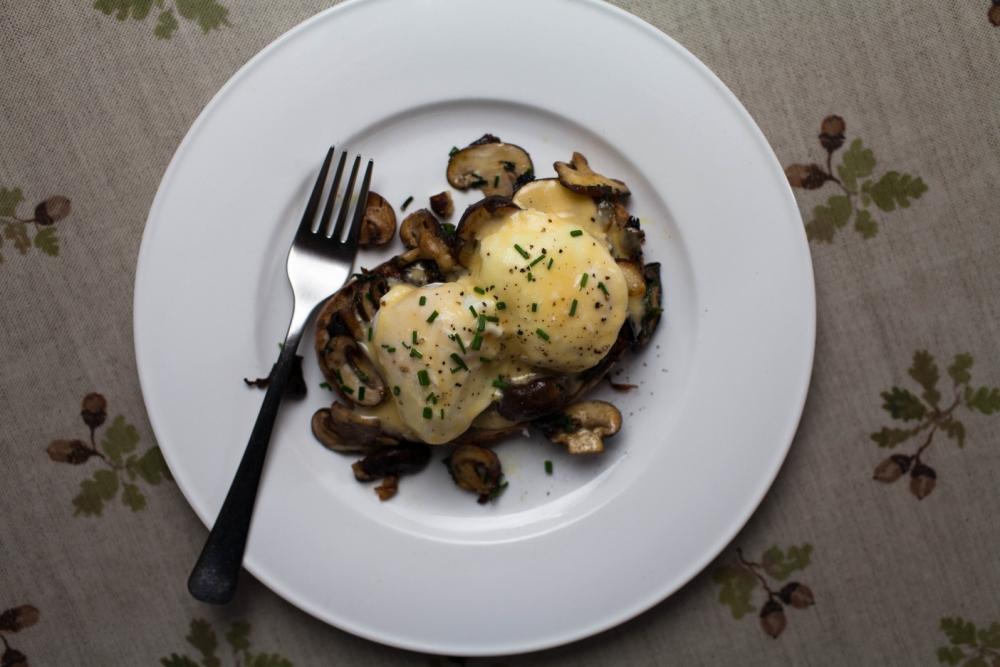 Chloe Scott's ultimate mushrooms on toast recipe (Picture: Oli Jones)