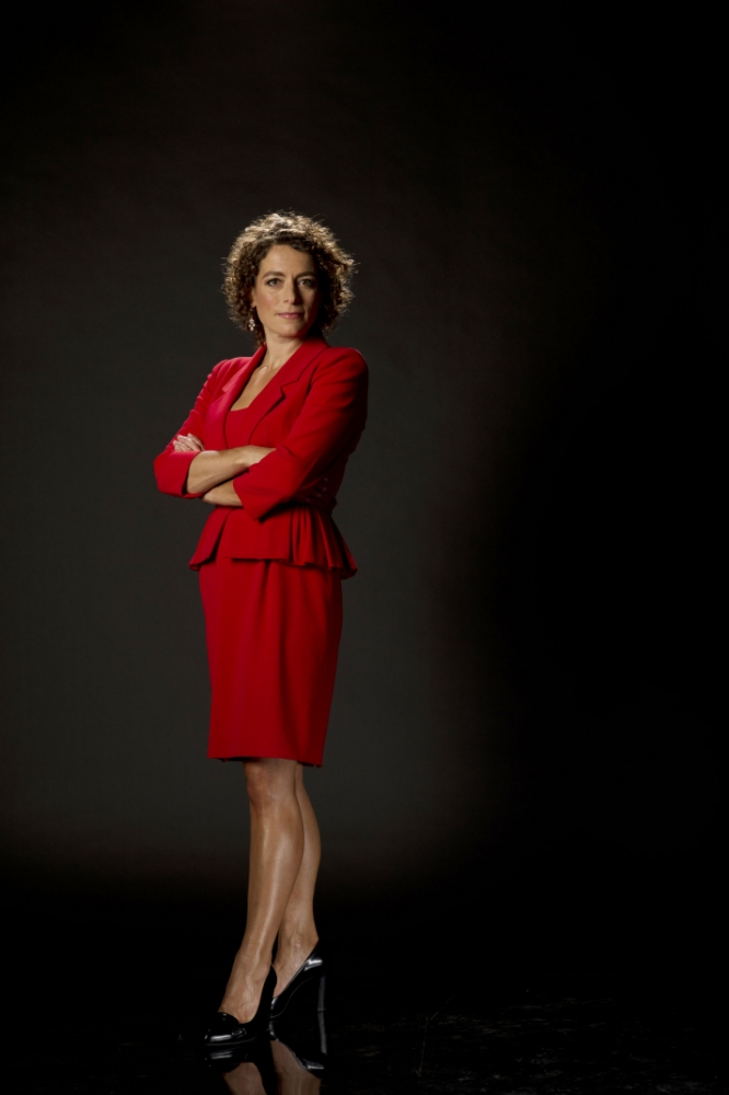 Alex Polizzi was on fixing duty with Cornish pasties and soft furnishings on her plate