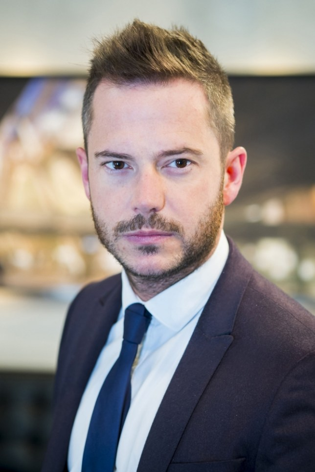 Neil Clough is an early favourite for The Apprentice finale (Picture: Jim Marks)