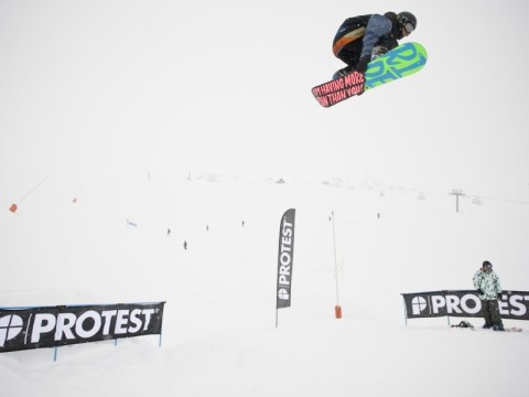 Billy Morgan out to beat his nerves and land Britain's first Olympic snowboarding medal