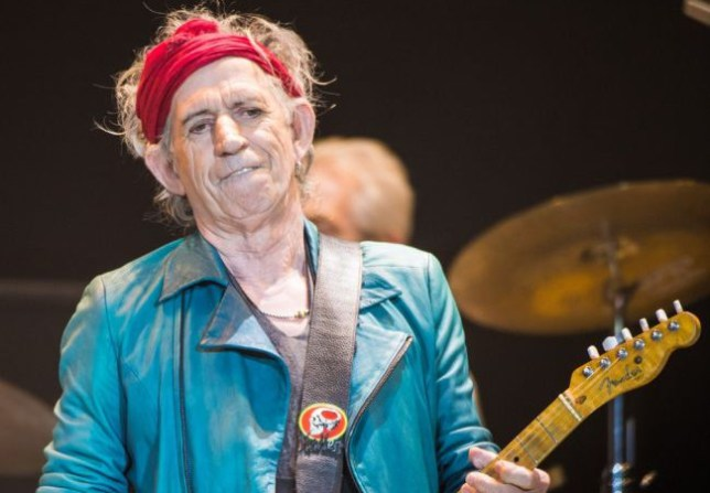 LONDON, ENGLAND - NOVEMBER 25: (STRICTLY EDITORIAL USE ONLY)Keith Richards of The Rolling Stones performs live at 02 Arena on November 25, 2012 in London, England. (Photo by Ian Gavan/Getty Images)