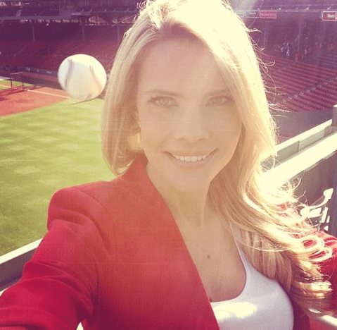Boston Red Sox fan is photobombed by flying baseball at Fenway Park