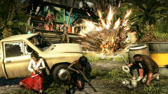 Dead Island: Riptide (360) – zombies and explosions, what's not to love?