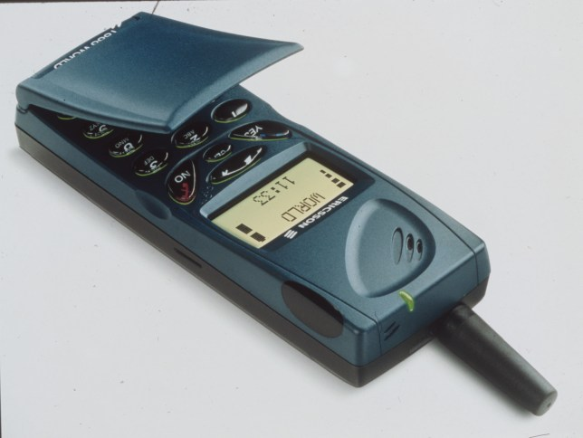 An old mobile phone