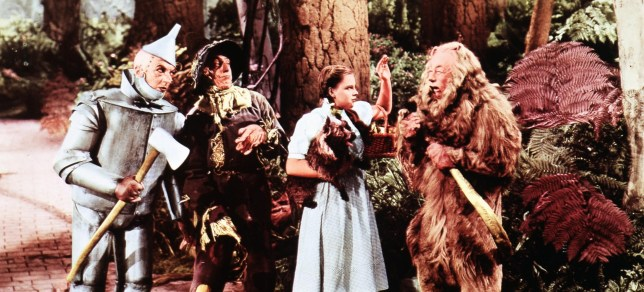 Ding Dong! The Witch is Dead is taken from the 1939 film The Wizard of Oz (Picture: File)