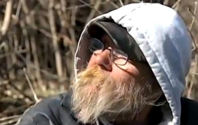 Homeless lottery winner Dennis Mahurin