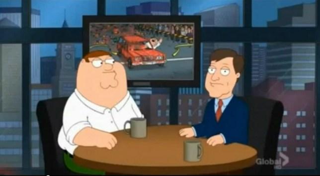 Family Guy Boston Marathon episode