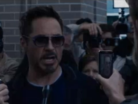 First Iron Man 3 clip sees Tony Stark confront the press