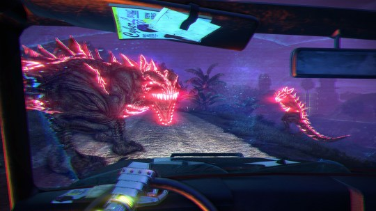 Far Cry 3: Blood Dragon (360) – as in, 'Look out! There's a bloody dragon!'