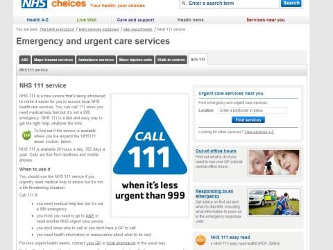 Plug pulled on NHS 111 health line as cash worries hit supplier