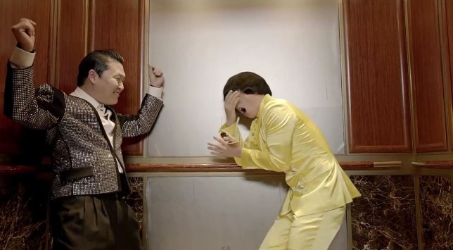 Psy's new video for Gentleman has been watched over 100 million times (Picture: YouTube)