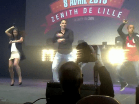 Valencia star Adil Rami gets injured performing Gangnam Style dance