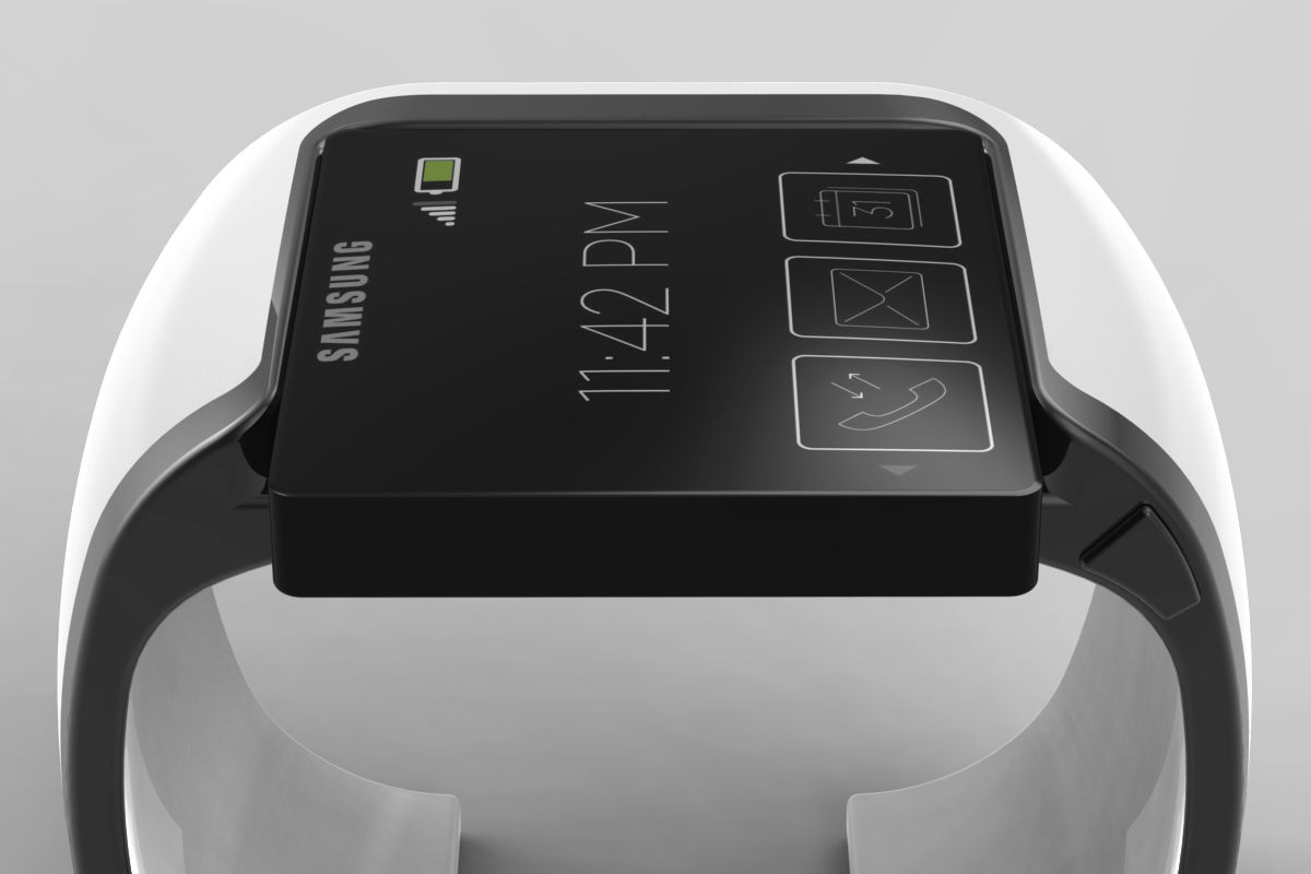 The smartwatch race is on and the Samsung Galaxy Gear will be first out of the blocks