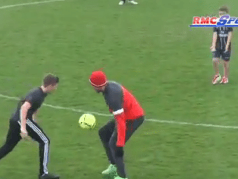 Like father like son! Brooklyn Beckham beats Thiago Silva with stunning piece of skill