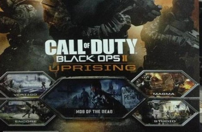 Call Of Duty: Black Ops II – Uprising info leaked for new