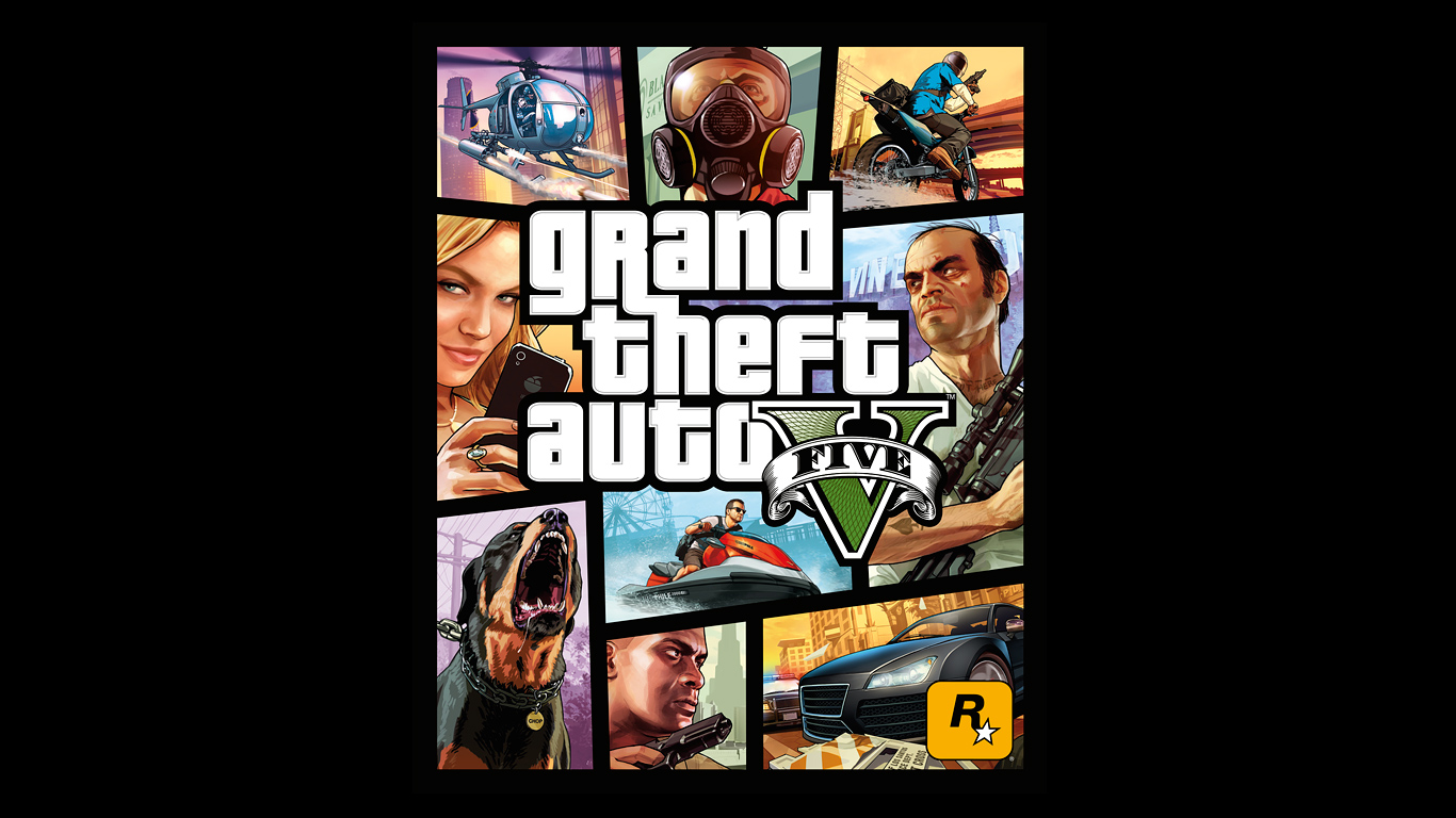 Grand Theft Auto V cover art finally revealed