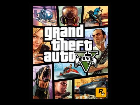 Grand Theft Auto V cover art finally revealed
