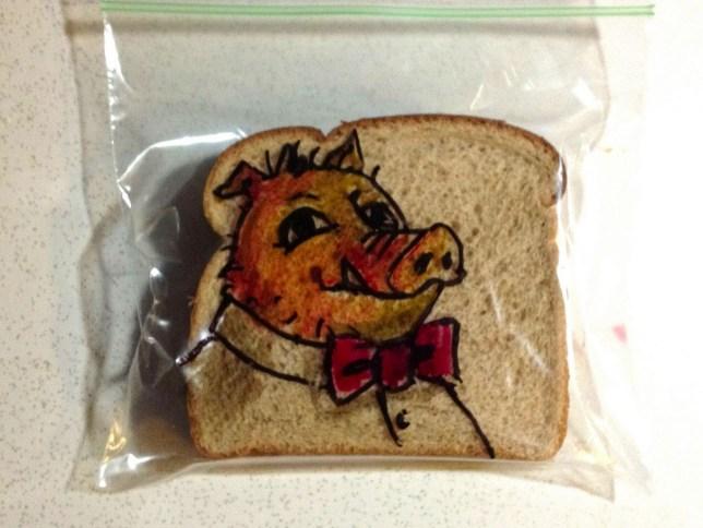 Flickr sandwich art by David LaFerriere