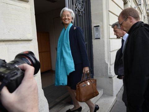 IMF boss Christine Lagarde asked: 'Why did you give £340m to crook?'