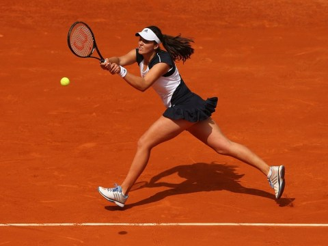 Laura Robson makes early French Open exit to Caroline Wozniacki