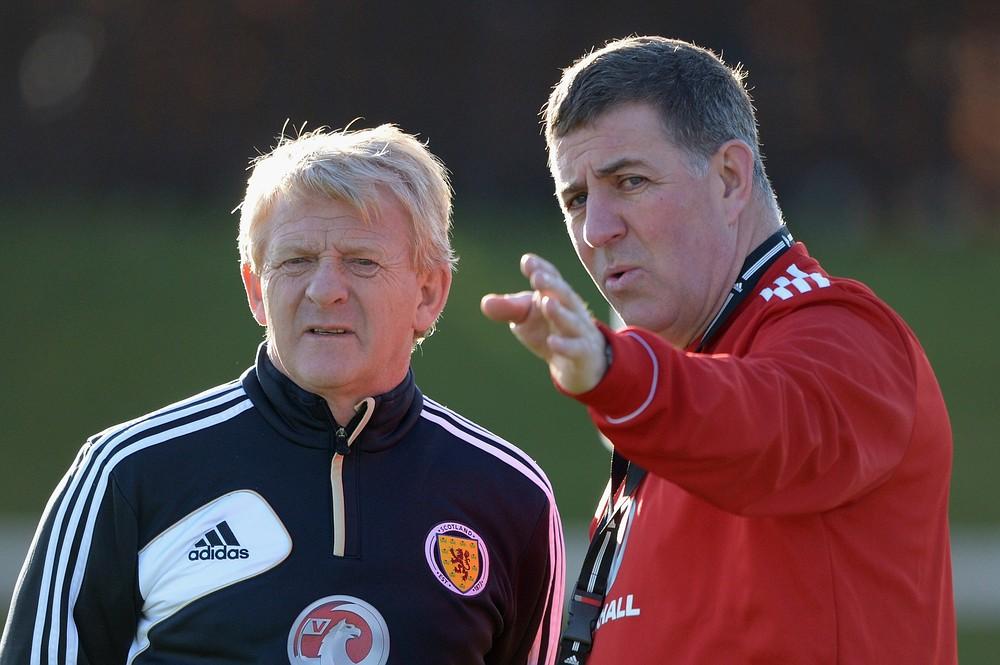 Nice lift for Scotland manager Gordon Strachan's Euro hopes
