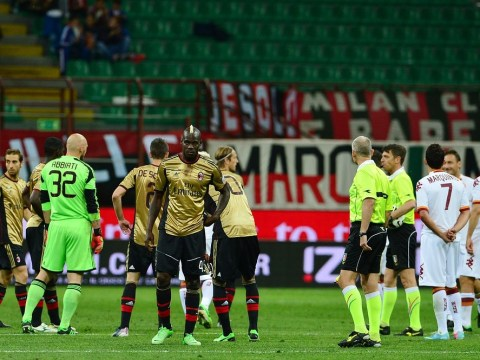 Sepp Blatter vows to act after racists target Mario Balotelli during Milan's clash with Roma