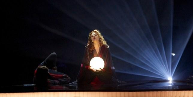 Valentina Monetta failed to make the cut in the Eurovision semi-final (Picture: Getty)