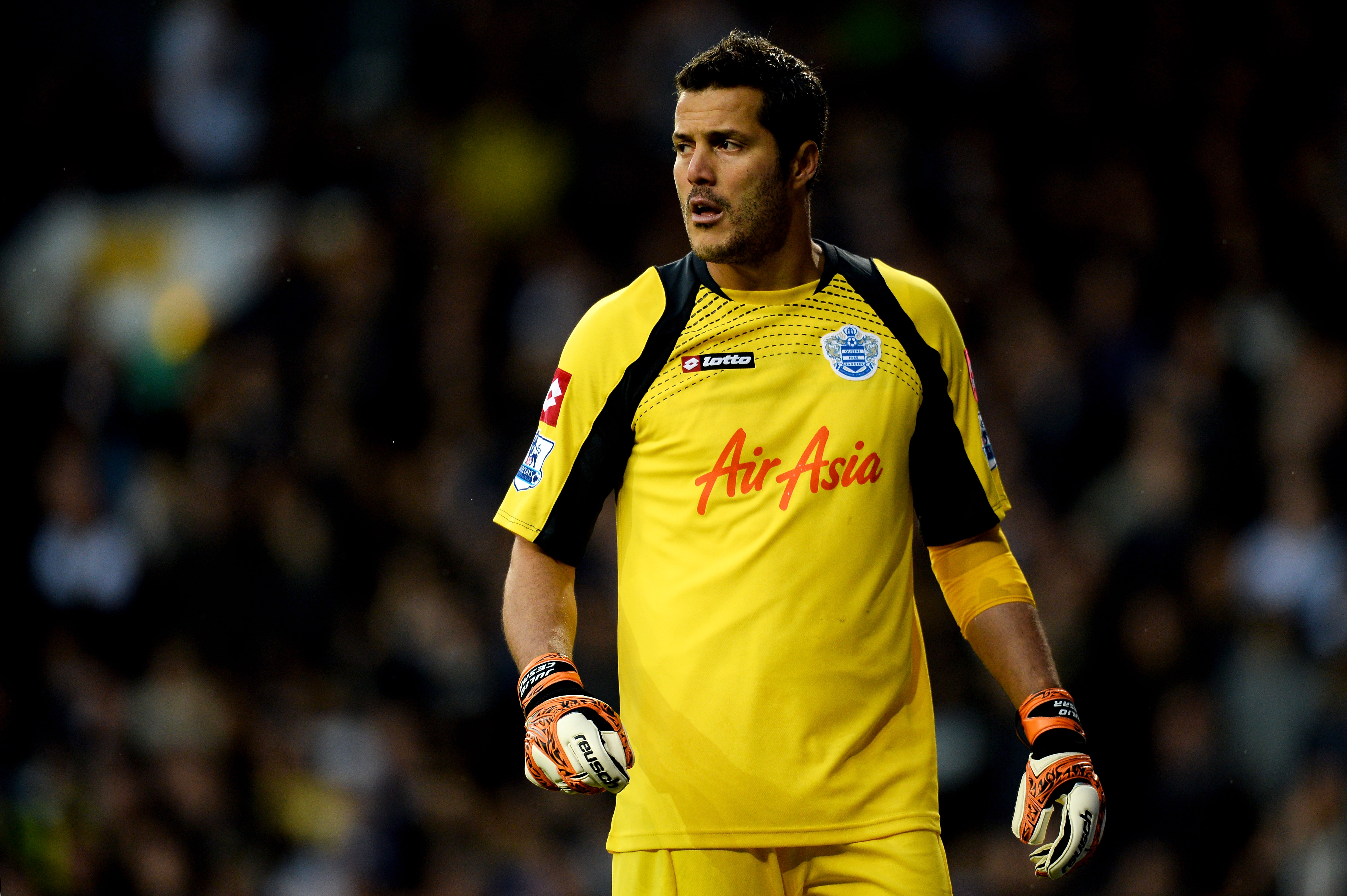 Julio Cesar hints at Arsenal move by confirming desire to stay in London