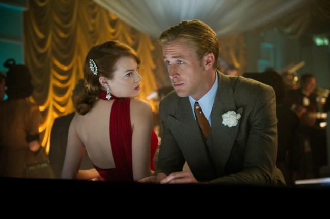 Emma Stone and Ryan Gosling in Gangster Squad (Picture: Warner Bros)