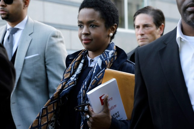 Lauryn Hill was jailed for three months (Picture: AP)