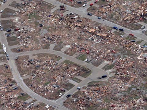 Oklahoma City tornado: Search for survivors 'nearly complete'