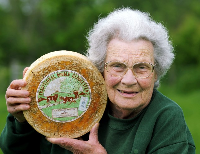 Diana Smart has pulled out of the cheese-rolling event (Picture: SWNS)