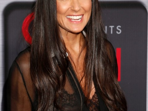 Demi Moore 'kissing and dancing' all night long with young beau Sean Friday
