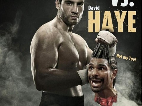 David Haye unfazed by Manuel Charr's severed head stunt