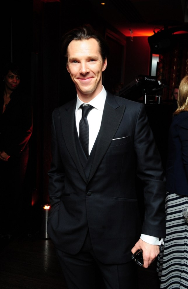 Benedict Cumberbatch arrives at the after premiere party for Star Trek Into Darkness at Aqua, London. Thursday May 2, 2013. Ian West/PA Wire
