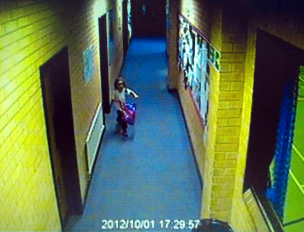 Mark Bridger trial: CCTV images of April Jones shown in court