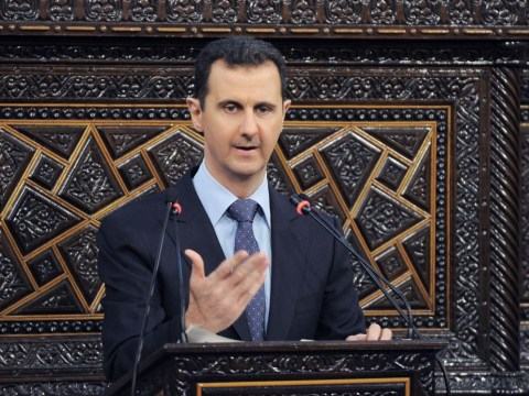 Where is the evidence of Assad's chemical weapons?
