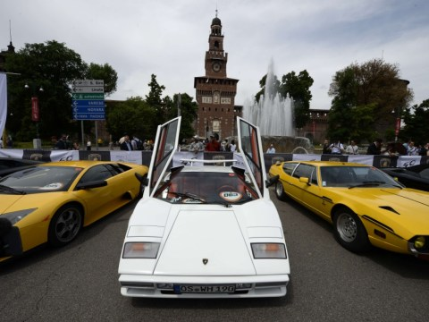 Gallery: Lamborghini marks 50th anniversary with 300 strong car tour