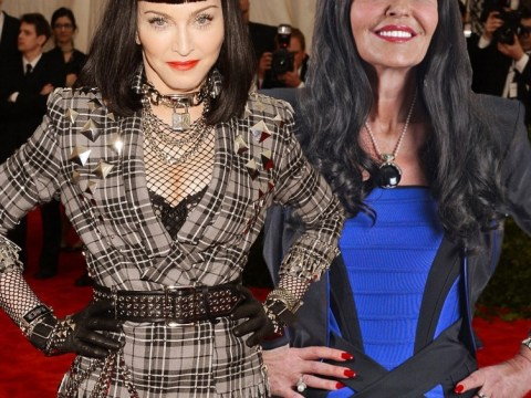 Madonna channels Dragons' Den's Hilary Devey as the Met Ball turns into a frocky horror show