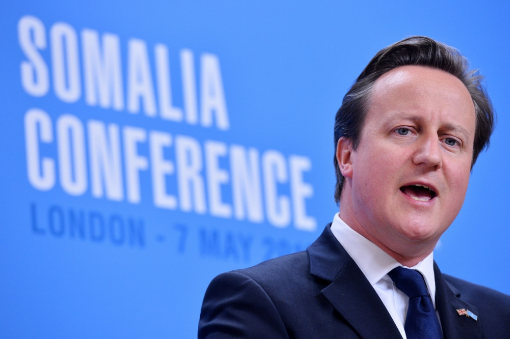Fund change in Somalia 'or it will become a terror den', David Cameron warns