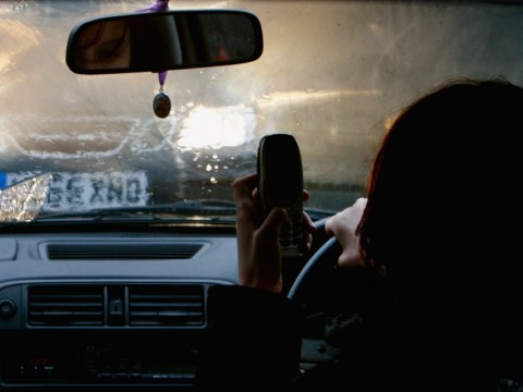 Drivers who text or eat sandwiches while at the wheel face £90 fine