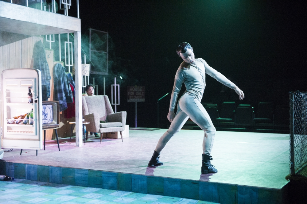 Steven McRae plays the Sandman in Liam Scarlett's nightmarish Hansel And Gretel (Picture: Tristram Kenton)