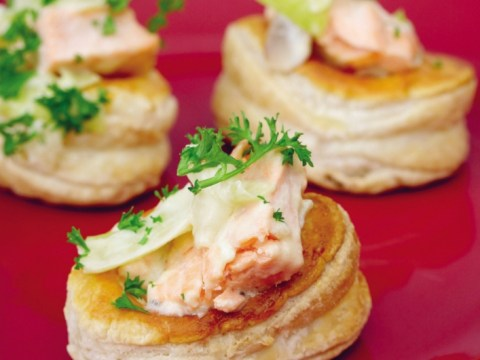 How to cook seafood vol-au-vents for the perfect Eurovision party menu