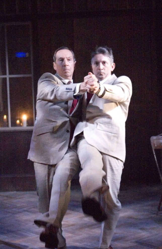 Jonathan Hyde and Gregory Gudgeon in Travels With My Aunt
