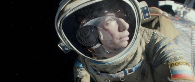 ****Ruckas Videograbs****  (01322) 861777 *IMPORTANT* Please credit Warner Bros. Pictures for this picture. 10/05/13 Grabs from the first teaser trailer for the film: Gravity STARRING: George Clooney and Sandra Bullock Dr. Ryan Stone (Sandra Bullock) is a brilliant medical engineer on her first shuttle mission, with veteran astronaut Matt Kowalsky (George Clooney) in command of his last flight before retiring. But on a seemingly routine spacewalk, disaster strikes. The shuttle is destroyed, leaving Stone and Kowalsky completely alone--tethered to nothing but each other and spiraling out into the blackness. The deafening silence tells them they have lost any link to Earth...and any chance for rescue. As fear turns to panic, every gulp of air eats away at what little oxygen is left. But the only way home may be to go further out into the terrifying expanse of space. Office  (UK)  : 01322 861777 Mobile (UK)  : 07742 164 106 **IMPORTANT - PLEASE READ** The video grabs supplied by Ruckas Pictures always remain the copyright of the programme makers, we provide a service to purely capture and supply the images to the client, securing the copyright of the images will always remain the responsibility of the publisher at all times. Standard terms, conditions & minimum fees apply to our videograbs unless varied by agreement prior to publication.