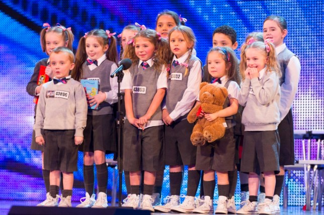 ITV undated handout photo of Pre Skool during their auditions for the ITV1 talent show, Britain's Got Talent. The dance troupe are the younger siblings of Nu Sxool, who  made it to the final of the talent show last year.  PRESS ASSOCIATION Photo. Issue date: Saturday May 11, 2013.  Photo credit should read: ITV/PA Wire NOTE TO EDITORS: This handout photo may only be used in for editorial reporting purposes for the contemporaneous illustration of events, things or the people in the image or facts mentioned in the caption. Reuse of the picture may require further permission from the copyright holder.
