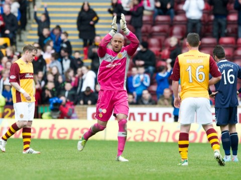 Darren Randolph bids fond farewell to Motherwell ahead of Birmingham transfer