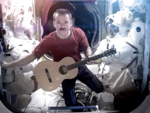 Commander Chris Hadfield ends ISS mission with Space Oddity rendition
