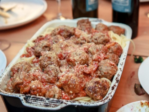 How to cook Jamie Oliver's meatball and berry ice cream recipes