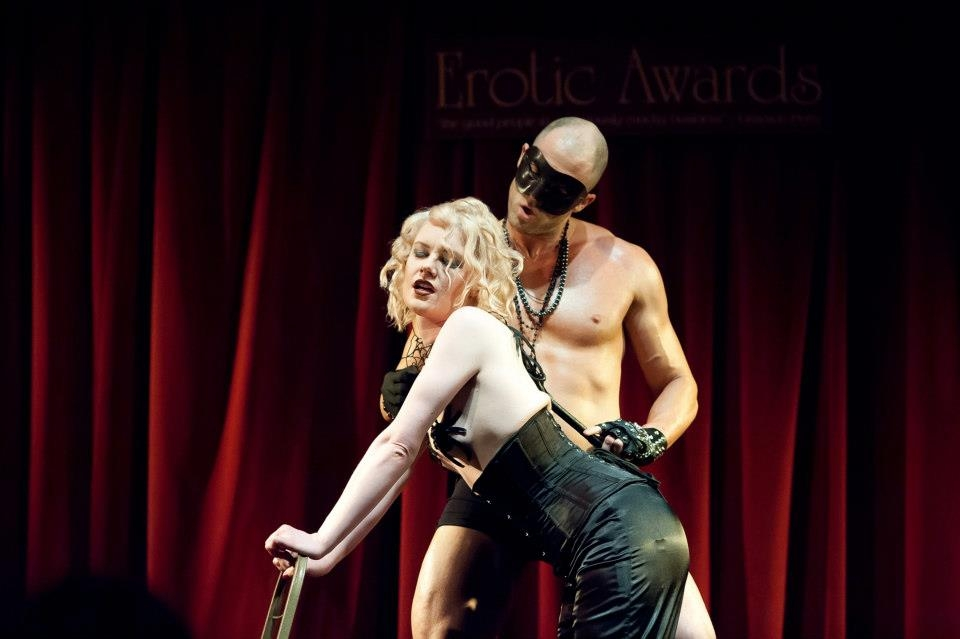 One of the acts from last year's Erotic Awards (Picture: Christian Sinkinson)